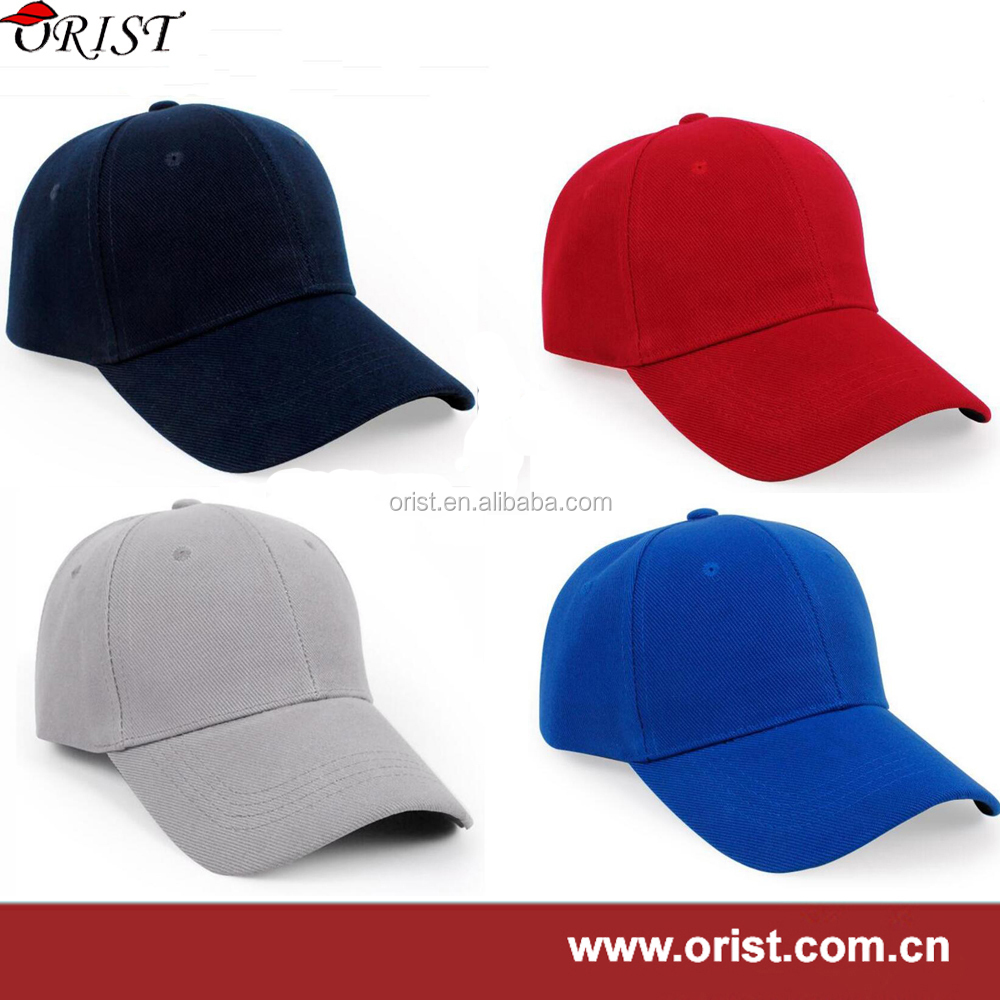 all kinds of softtextile golf cap with 6 panel