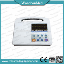 Professional Digital 3 Channel ECG machine with CE mark