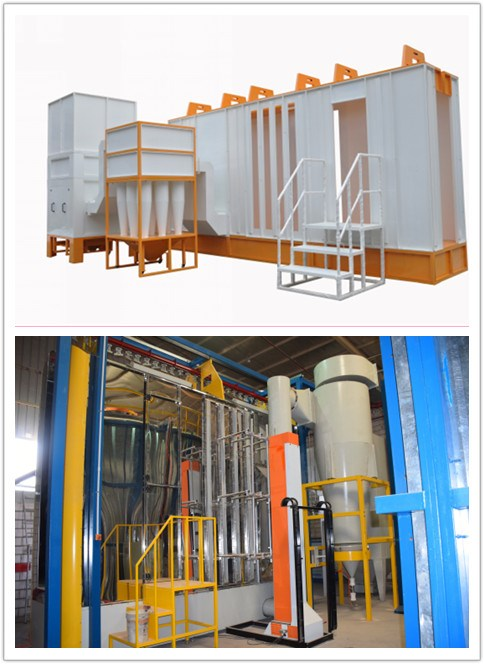 Automatic Powder Coating Plant for Fuel Tank