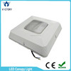 slim white aluminum alloy housing super bright 15ow Meanwell driver led canopy light
