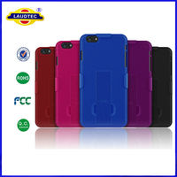 2 in 1 Combo Shock Proof Armor Shockproof Hard Case for iPhone 6 Cellphone Cover --Laudtec