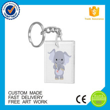 Made in China cartoon funny customized acrylic keychain