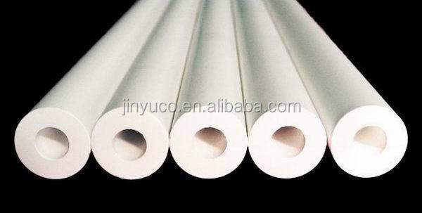 High temperature resistant hollow ceramic roll fused silica quartz roller for tempering furnace