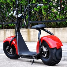 Factory price Fat tire electric scooter 800w city coco