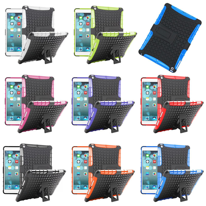 China supplier 2 in 1pc hard case for ipad Air with stand