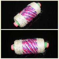 sisal cat roller toy