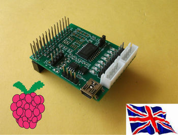 Raspberry Pi - 2803 Step motor-& I2C 1-Wire Board