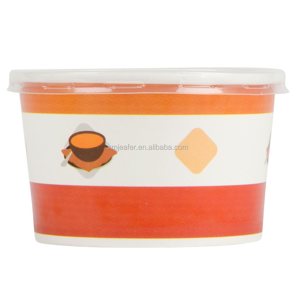 paper soup cups Disposable take out hot soup containers and paper soup cups custom printing, quick shipping and low prices.