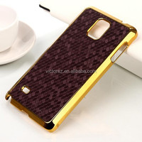 Hard Case for Samsung galaxy note 4 Honeycomb Design Leather Skin Case for Samsung galaxy note 4