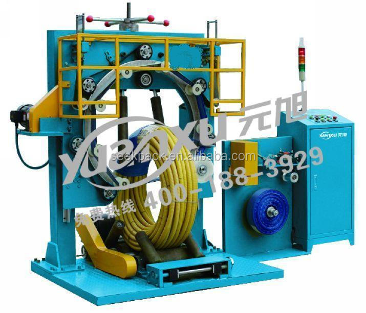 Tire Coil PE/Paper/Plastic Band Stretch Wrapping Machine