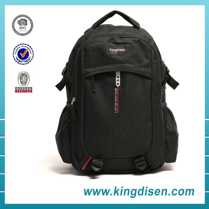 2016 OEM factory wholesale polyester school backpacks for teenage boy
