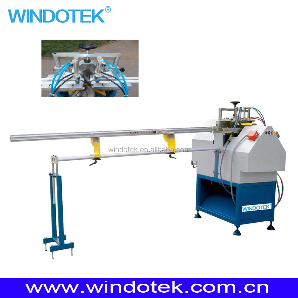 Vinyl window making machine UPVC glazing bead cutting saw SJBW-1800