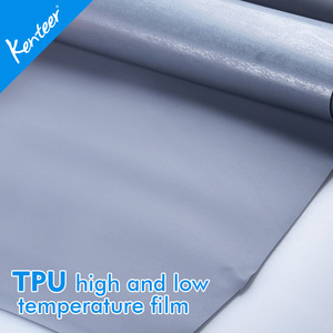 Kenteer Colorful tpu hot melt film for shoe upper laminating shoe materials