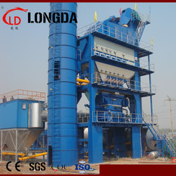 Hot mix asphalt plant LB1500-120TPH, Asphalt mixing plant for road construction