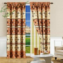 Factory sales cheap sheer curtian Multi-color luxury jacquard window curtain