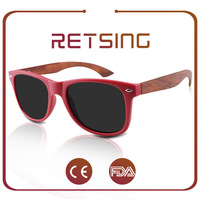 Promotional Bamboo Wooden Sunglasses Hot Selling Eco Friendly Wood Sunglasses China Handmade Oculos De Sol De Madeira