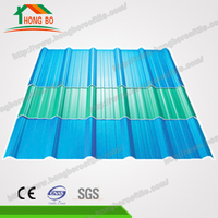 Superior Quality 4-Layers Apvc Plastic Shingle Roof