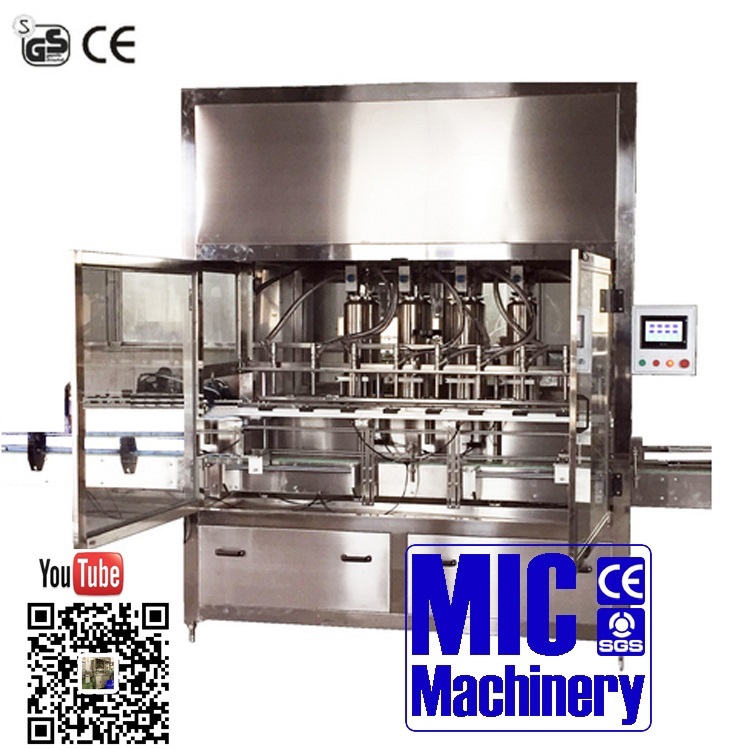 Micmachinery olive oil filling machine liquid bottle filler glass bottle filling machine with factory price