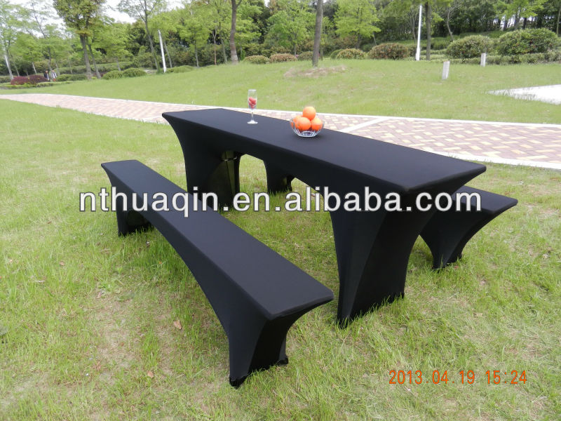 garden stretch beer table cover and beer bench cover, View Beer ...