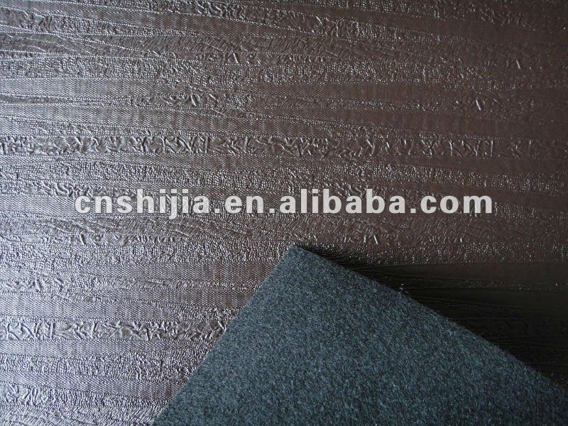pvc leather with non-woven backing for sofa