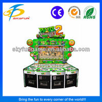 best sell amusement plants vs zombies 2 game machine for bar