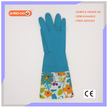 SHINEHOO Thick Rubber Latex Household Safety Gloves