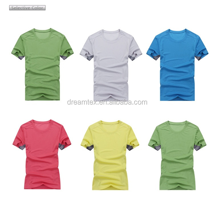 Best selling high quality women dri fit seamless gym t shirt