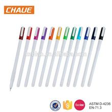 2017 China promotional business plastic cute gel banner ink pen
