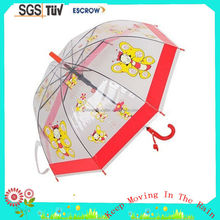 Best quality best sell yellow tiger umbrella for children