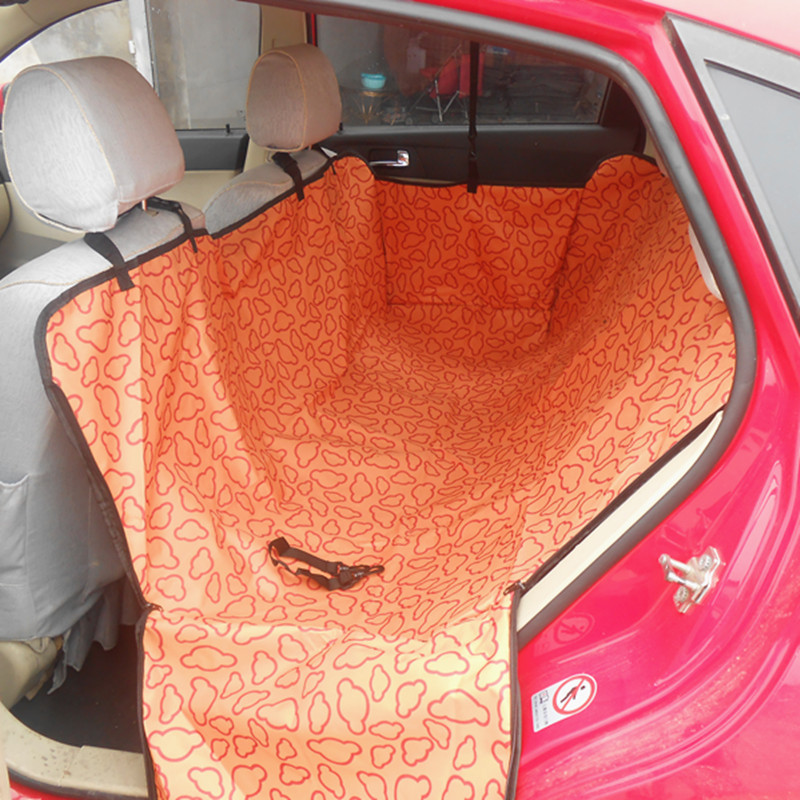 Polyester Oxford Car Seat Cover for Dogs Waterproof Pet Mat