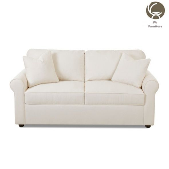 Italian style accent carved wood legs and trim sofa high end wing broad back resting sofa living room sofa