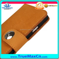 2014 New arrivals leather cover for iPhone 6 Made in China with factory