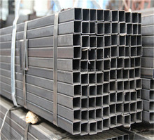 HRS 50*50*2.5mm 100*50*2.5mm q235b galvanized Rectangular steel tube