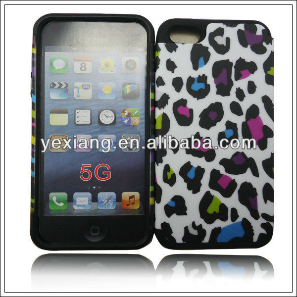 New Rubber Cell Phone Accessories Cases For Iphone5 Hybrid Cover