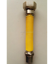 Yellow coated Flexible Natural Gas Hose