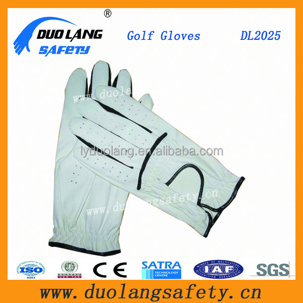 Targa 2015 White/Black Golf Glove From China Manufacture