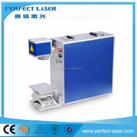 Steel/ Aluminum/ Brass/ PVC/Titanium portable marking high speed fiber laser marking machine