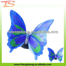 LED fiber optic butterfly light as home decoration lights/gargen decoration lighting in the shape of butterfly