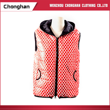 Chonghan 2017 European Fashion Womens Sleeveless Winter Vest Coats