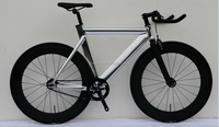 aluminium frame fixie bike 70mm rim fixed gear bike alloy fixed gear bicycle