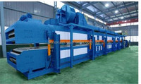 pu sandwich panel machine rof roof and wall