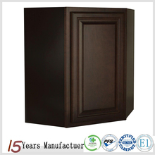 American Wooden Ready Made Wall Diagonal Corner Kitchen Cupboards