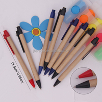 logo brand personalized recycle plastic ball pen