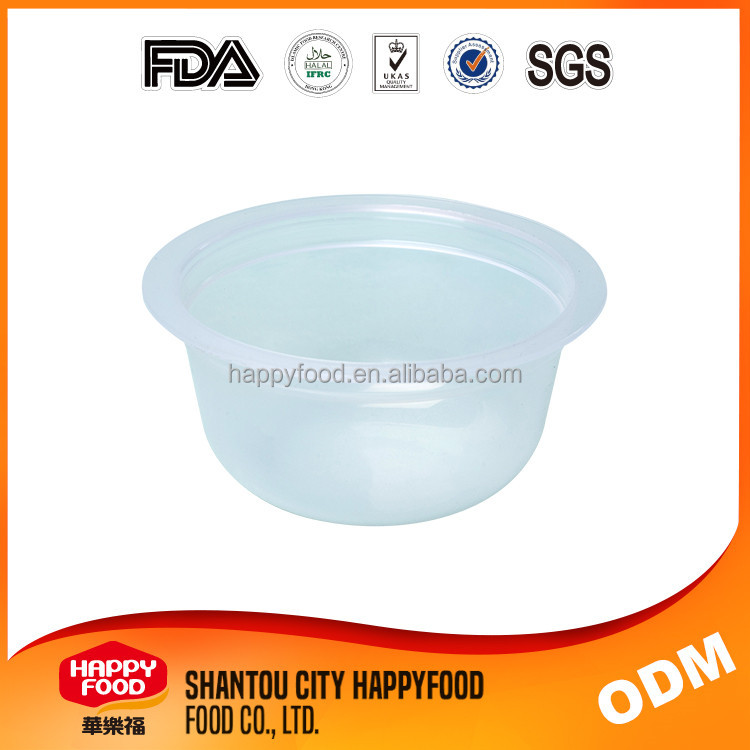 PP Material 80g Juice Cup Plastic Jelly Cup Packaging