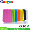 Guoguo colorful 18650 size disc suitcase portable power bank 9000mah for tablets