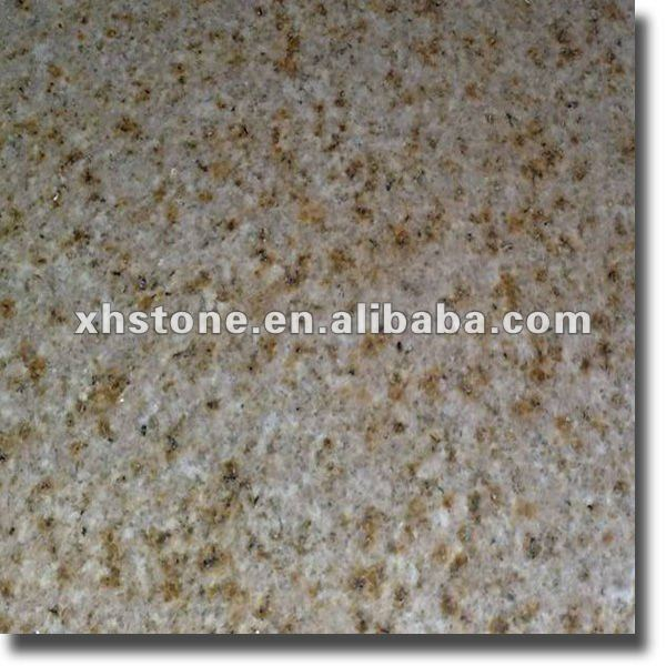 Yellow outdoor granite tile for sale