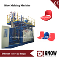 Blow molded machine for plastic stadium seat dining room seat chair