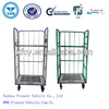 Hot Sale Folding Supermarket Logistics Trolley (ISO SGS TUV Approved )