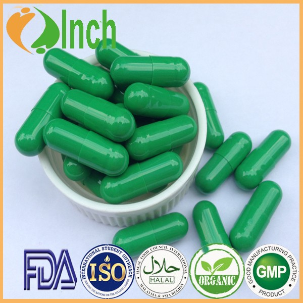 Natural Green Spirulina Cholrella Slimming Dietary Supplement Capsule
