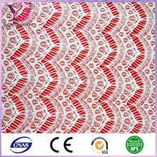 2014 latest black nylon delicate lace fabric manufacturers